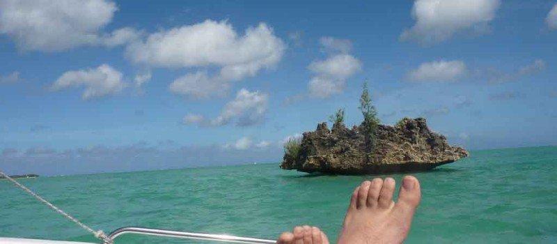 odpoczynek na łódce