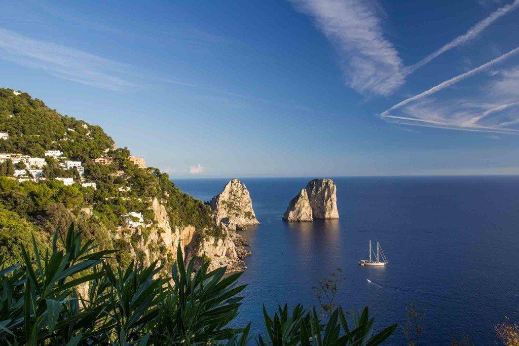 Najlepsze kurorty nadmorskie w Europie - Capri, Włochy