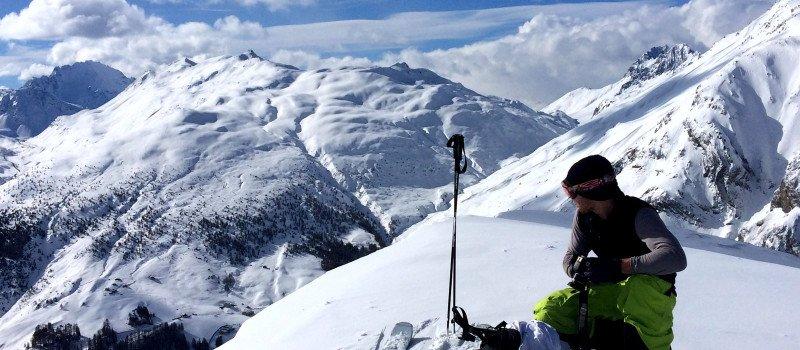 Jazda na nartach poza stokiem