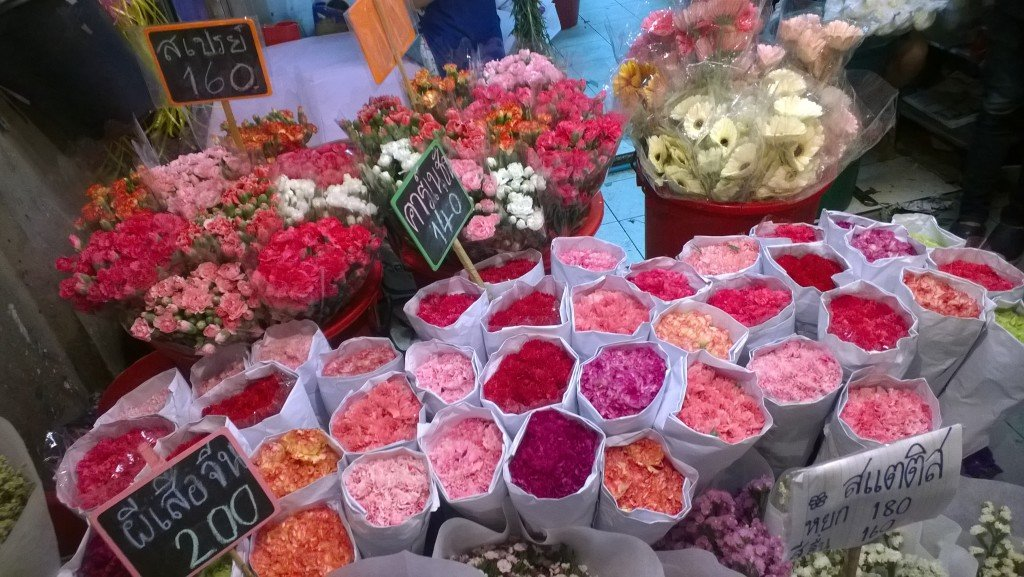 Targ kwiatów_Tajlandia