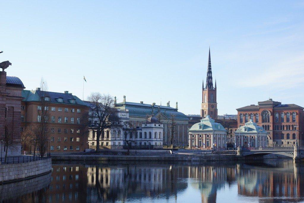 Sztokholm a ubezpieczenie turystyczne do Szwecji