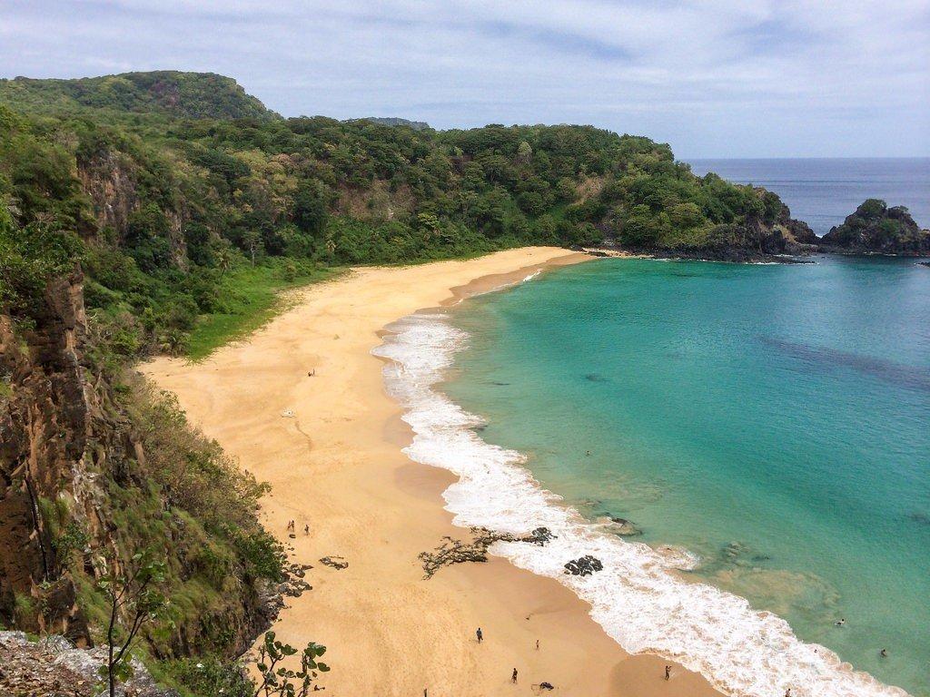 Najpiękniejsze plaże świata - Baia do Sancho