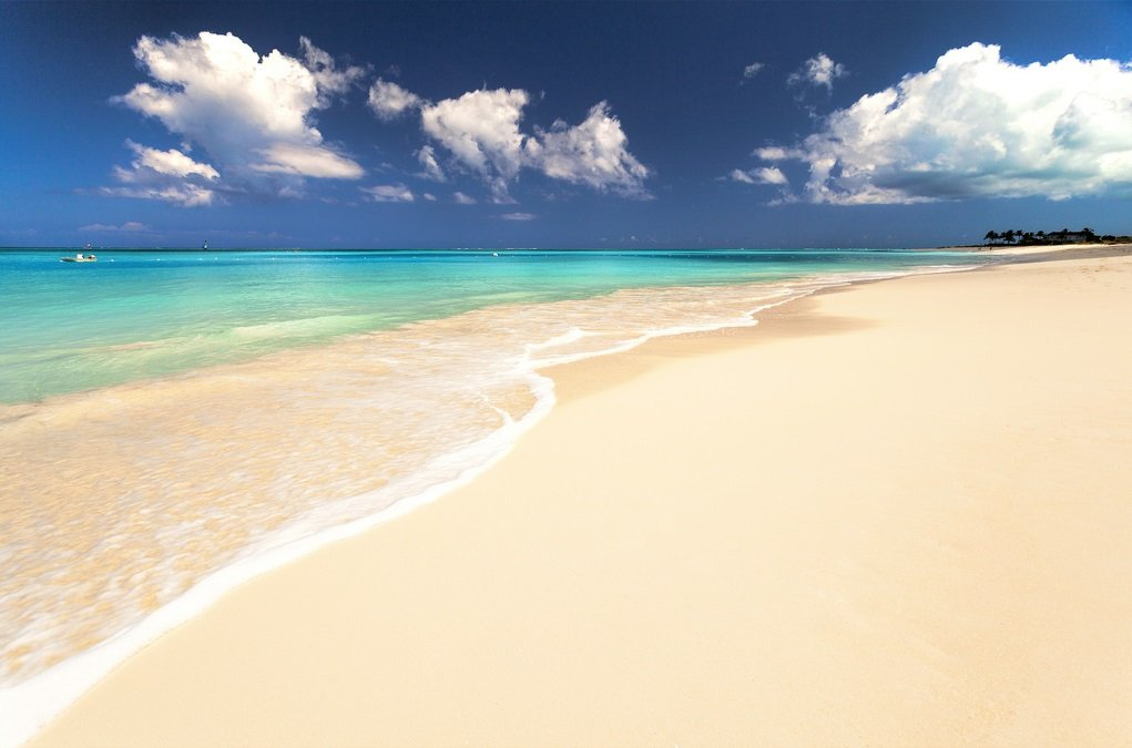 Najpiękniejsze plaże świata - Grace Bay
