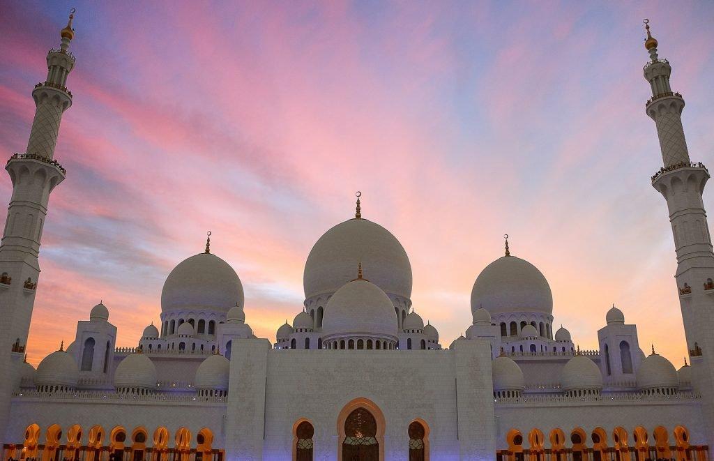 Największe atrakcje turystyczne - Wielki Meczet Sheikh Zayed