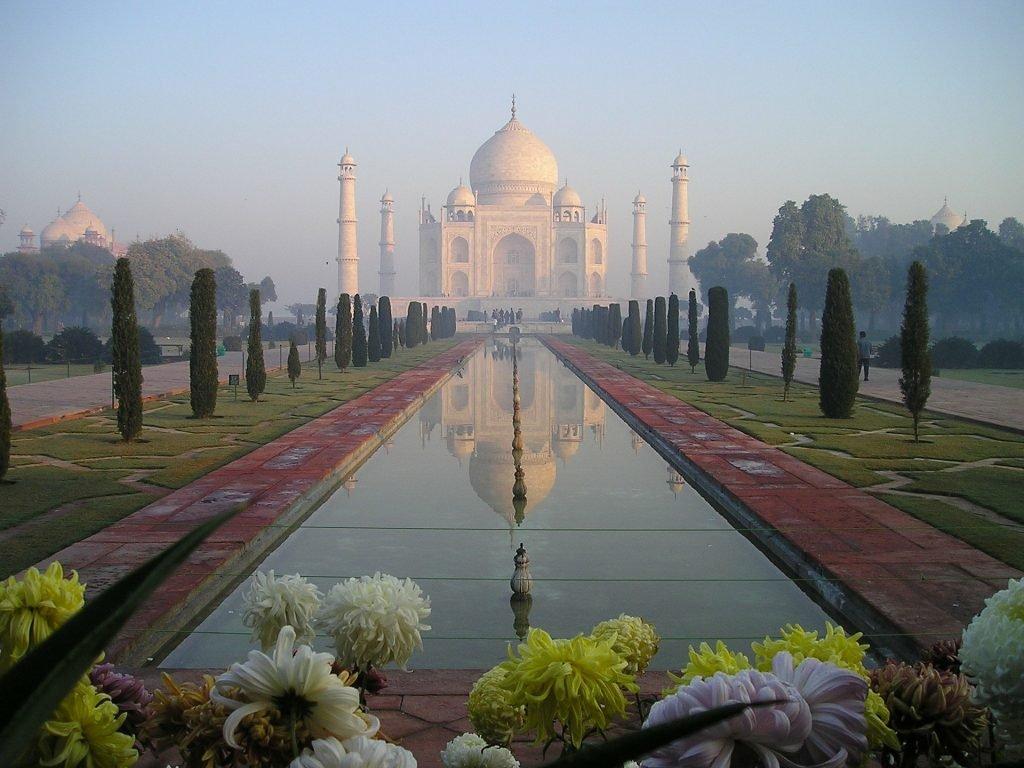Największe atrakcje turystyczne - Tadż Mahal