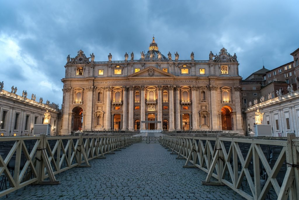 Największe atrakcje turystyczne - Bazylika św. Piotra