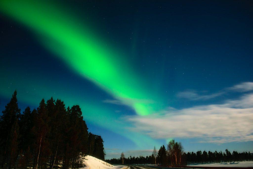 Sylwester w Laponii i polowanie na zorzę