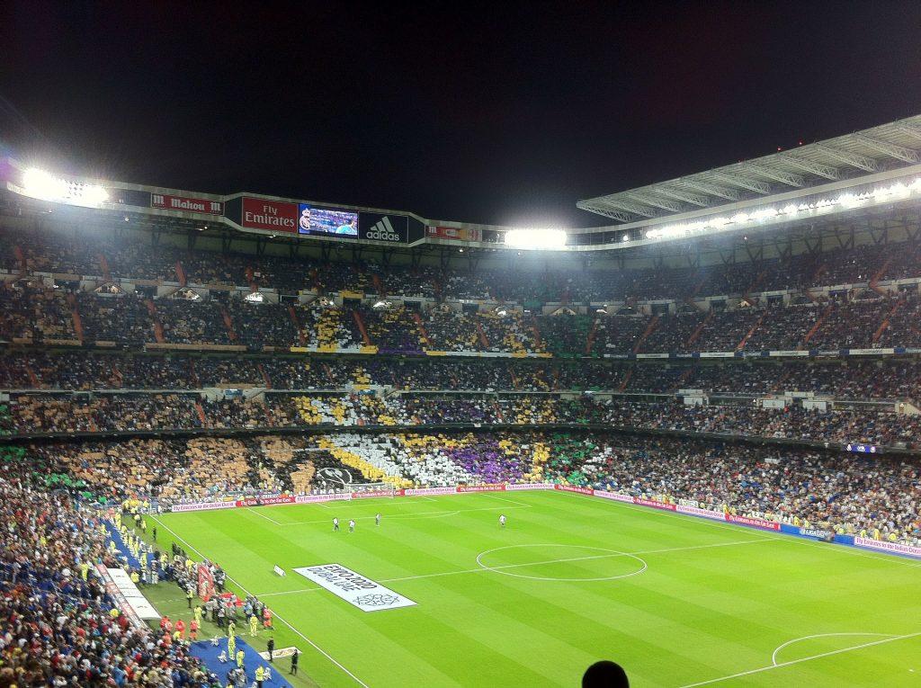 najsłynniejsze stadiony świata - Santiago Bernabeu