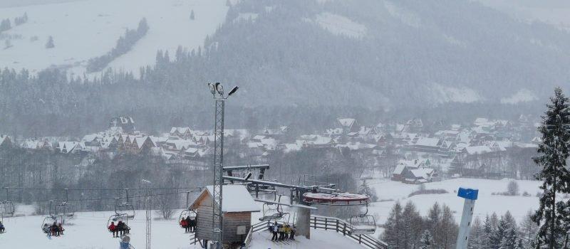 narty w kaniówka ski