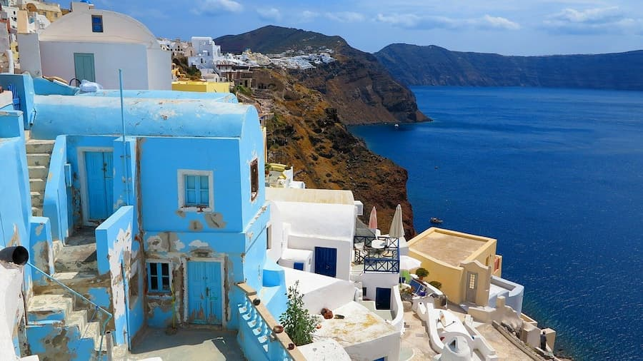 Santorini - piękna wyspa w Grecji