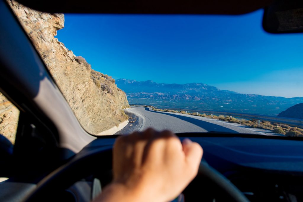 podróż samochodem do Grecji