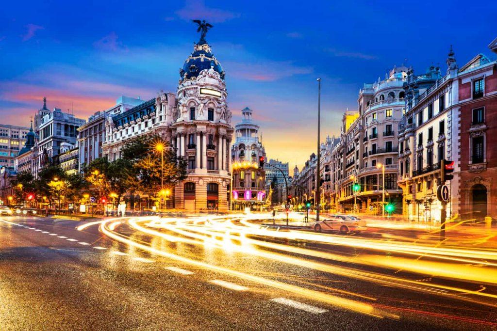 samochodem do Hiszpanii